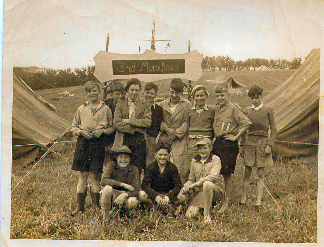 Minehead Scouts 1950's